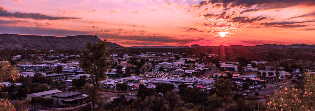 Alice Springs lookout