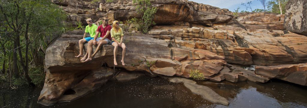 Friends at Katherine Gorge